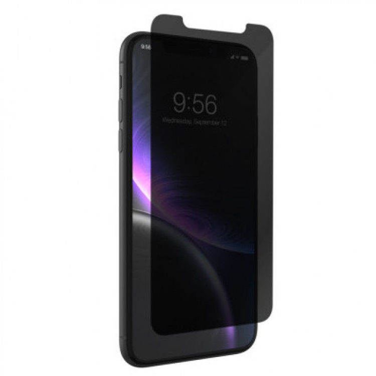 صورة ZAGG Invisible Glass Elite Privacy Screen Protector for iPhone 11