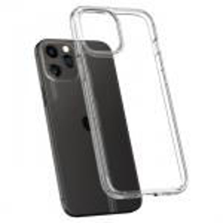 Picture of Spigen Crystal Hybrid for iPhone 12 - 12 Pro (Clear)