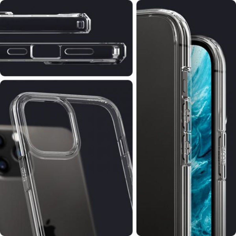 Picture of Spigen Crystal Hybrid for iPhone 12 Pro Max (Clear)