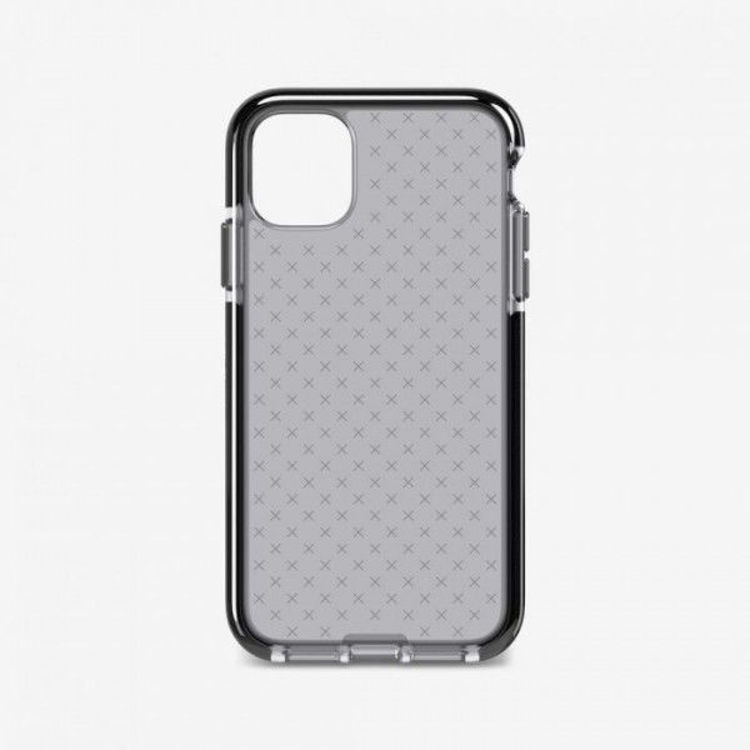 Picture of Tech21 Evo Check Clear for iPhone 11 (Smokey/Black)