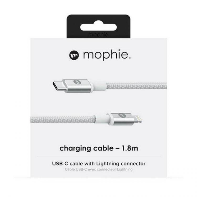 Picture of Mophie USB-C to Lightning Cable 1.8m (White)
