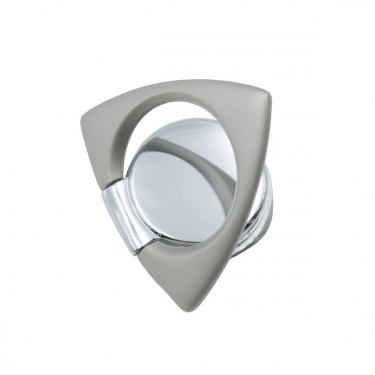 صورة Ring Spinner Buckle Triangle and Spinner (Silver)