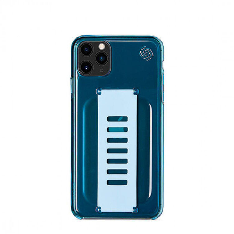 Picture of Grip2u Slim Cover for iPhone 11 Pro (Neon Blue)