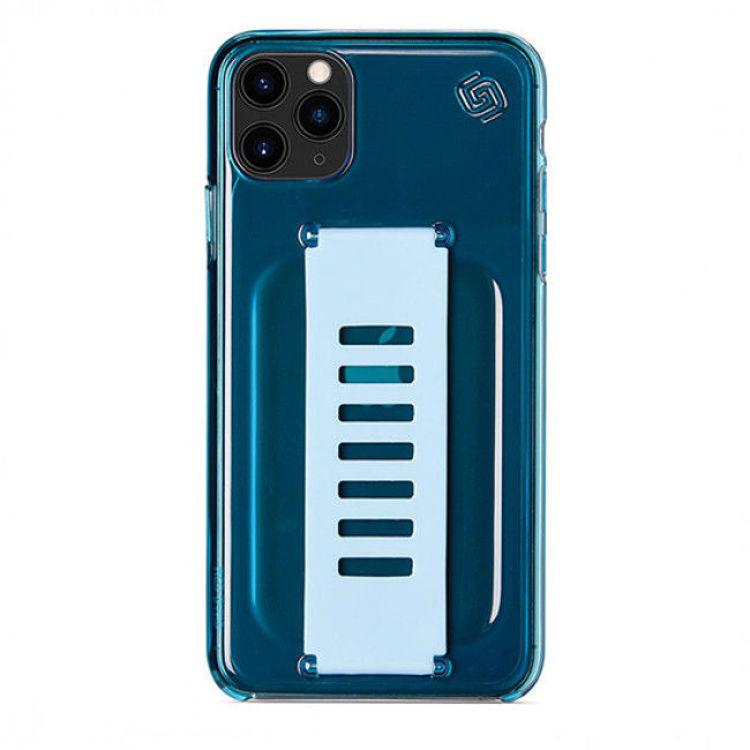 صورة Grip2u Slim Cover for iPhone 11 Pro Max (Neon Blue)