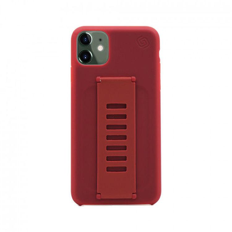 صورة Grip2u Slim Case for iPhone 11 (Maroon)