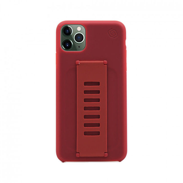 صورة Grip2u Slim Case for iPhone 11 Pro (Maroon)