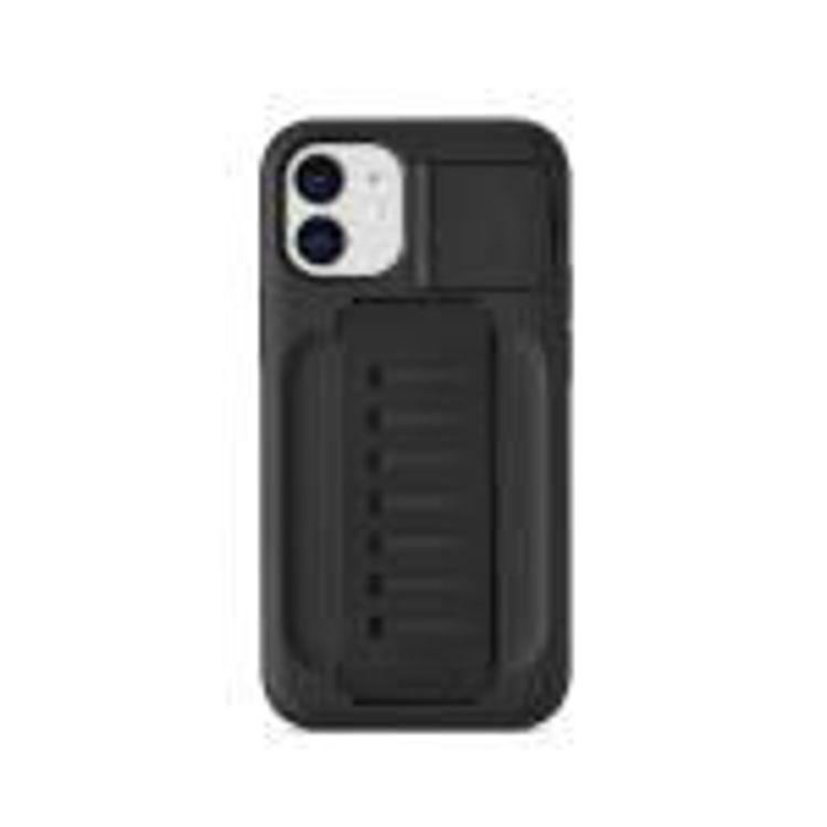 صورة Grip2u Boost Case with Kickstand for iPhone 12 mini (Charcoal)