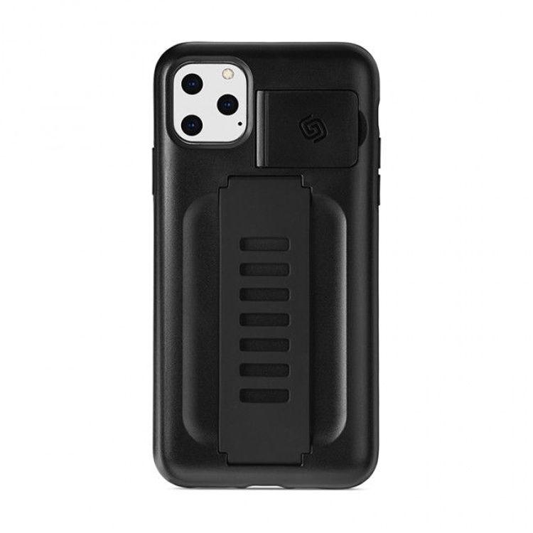 صورة Grip2ü BOOST with Kickstand iPhone 11 Pro Max - CHARCOAL