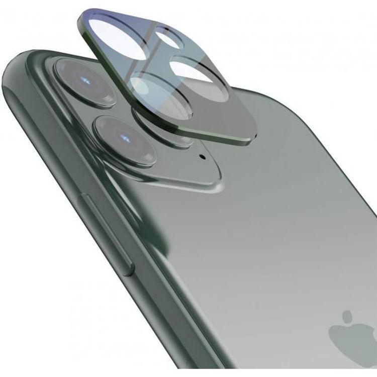 صورة Grip2u Camera Lens Screen Protector for iPhone 11 Pro/11 Pro Max (Midnight Green)