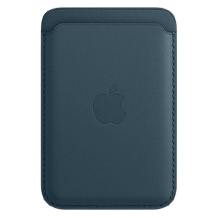 Picture of iPhone Leather Wallet with MagSafe Blue