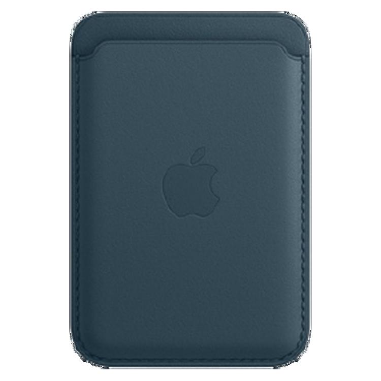 صورة iPhone Leather Wallet with MagSafe Blue