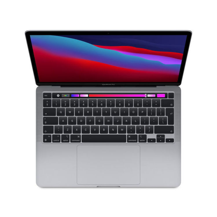 """Picture of Macbook Pro 13"""" customized build with 16GB memory 512 GB Space Grey"""