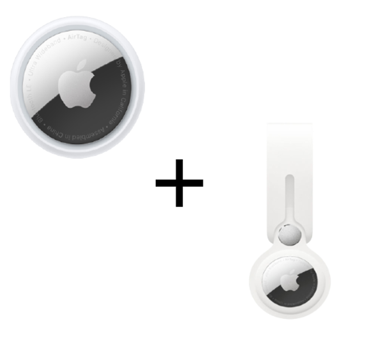 Picture of Apple AirTag 1 Pack +  Loop White