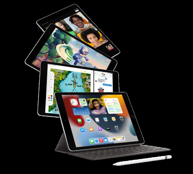صورة iPad 10.2  WiFi 2021- 64GB Space Grey